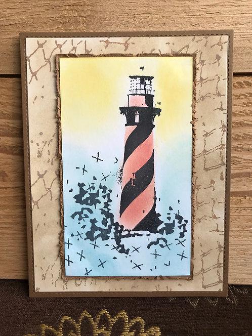 Lighthouse  - Greeting Card