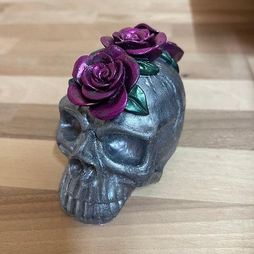 3D Rose Skull