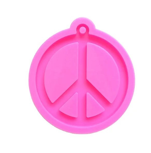 Keychain Peace Sign