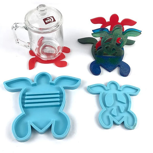 Turtle - Coaster Set