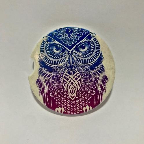Owl - Car Coaster