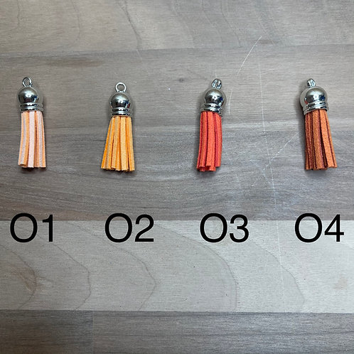 Orange Tassels
