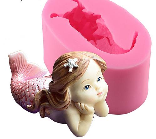 Baby Mermaid Mold