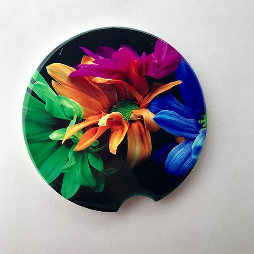Bright Flower - Car Coaster