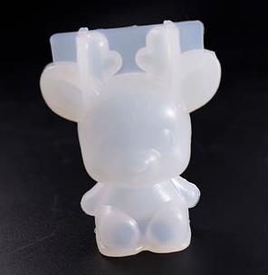 3D Reindeer Mold