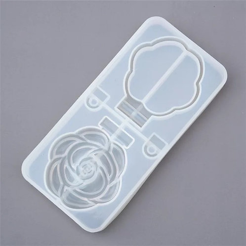 Compact Mirror - Rose