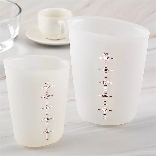 250/500ml Silicone Measuring Cups
