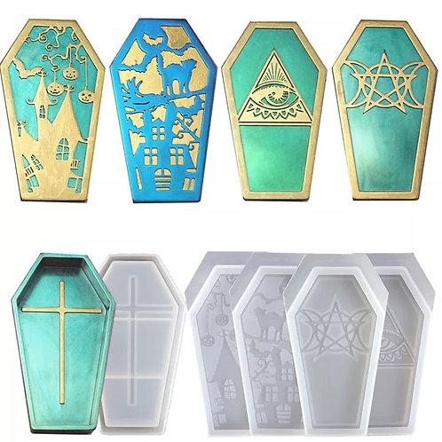 Coffin Box + 4 Lids