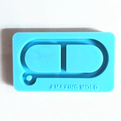 Pill Keychain