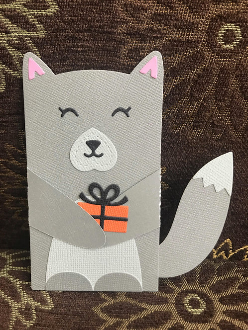 Wolf - Gift Card Holder