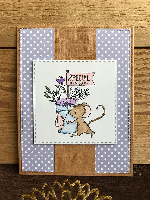 Special Delivery  - Greeting Card
