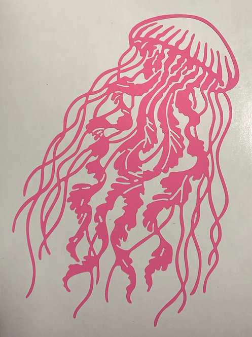 Jelly Fish Decal