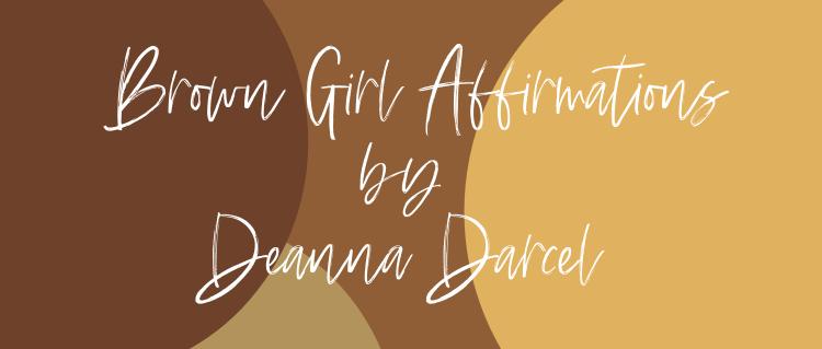 Brown Girl Affirmation Cards
