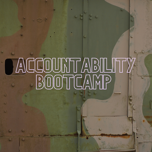 Accountability Bootcamp