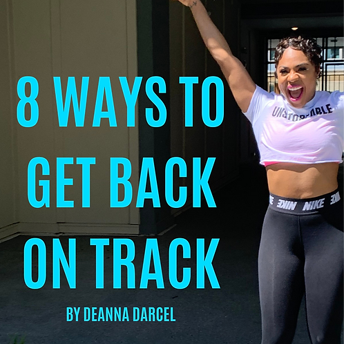 8 Ways To Get Back On Track-EBook