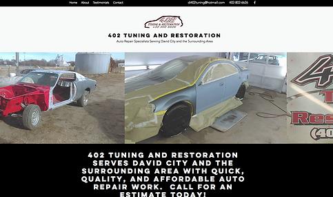 Auto Body Website