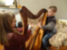 Harpist london harp tutor harp teacher harp lesson professional harpist UK
