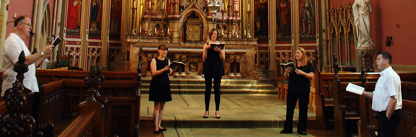 Quintessential Voices at Ushaw College, Durham