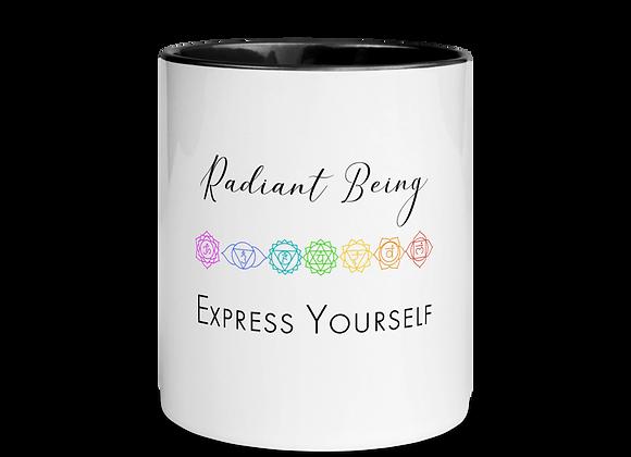Radiant Being, Express Yourself Mug