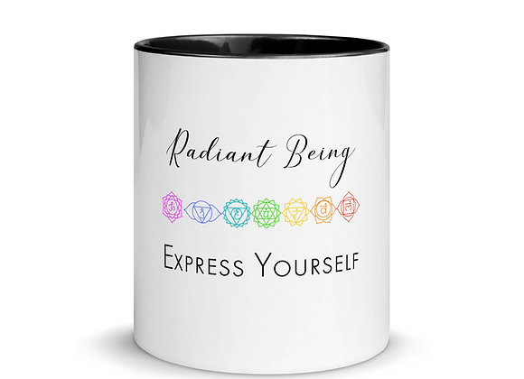 Radiant Being, Express Yourself Mug