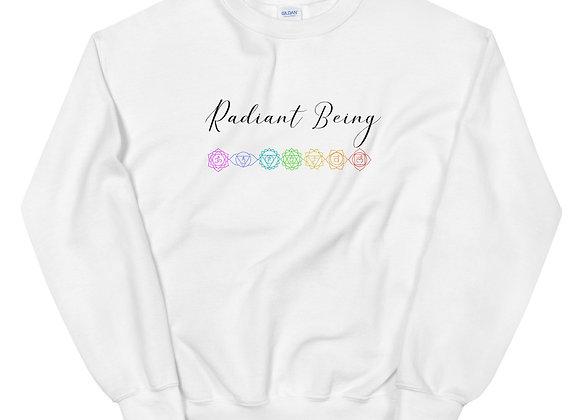 Radiant Being, Align Your Chakras Sweatshirt