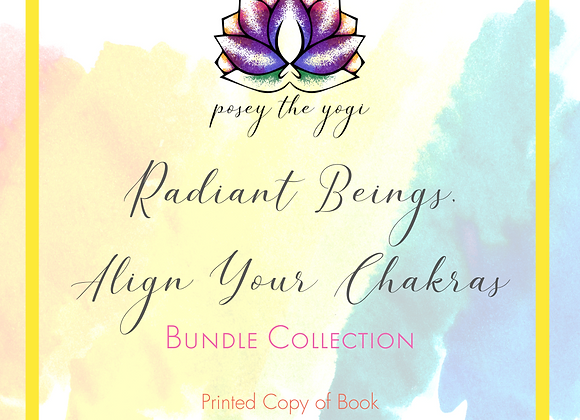 Radiant Beings, Align Your Chakras Bundle - Full Color Printed Book