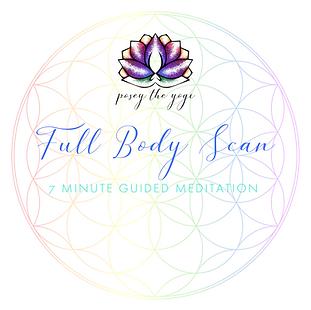 Posey the Yogi - Full Body Scan Image