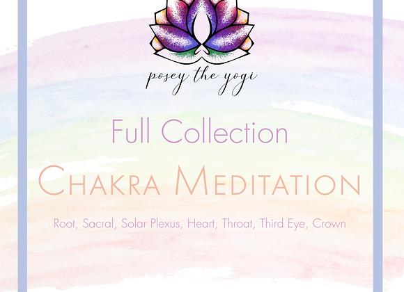 Full Chakra Meditation Collection