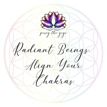 Posey the Yogi - Align Your Chakras Webs