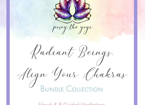 Radiant Beings, Align Your Chakras Bundle - Ebook Version
