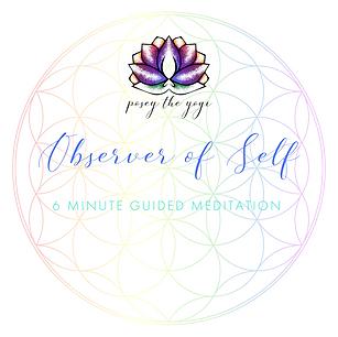 Posey the Yogi - Observer of Self