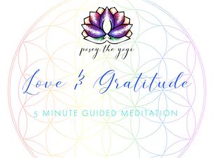 Posey the Yogi - Love and Gratitude Medi