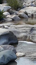 Fluß und Bäder Süd Korsika