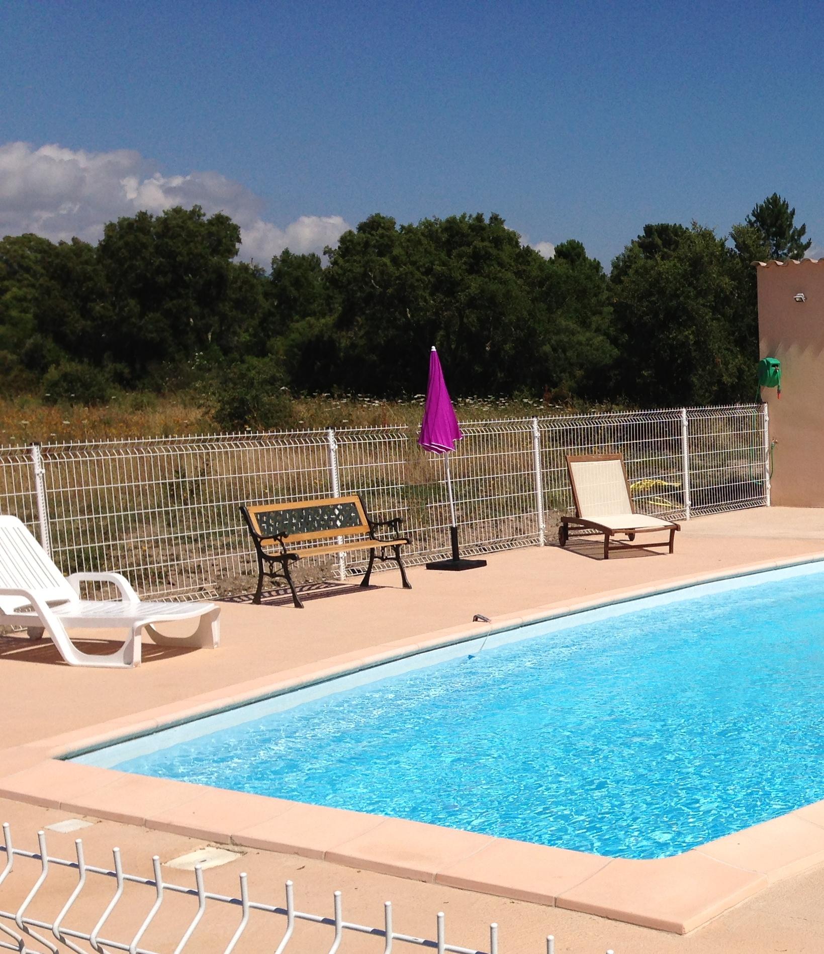 Corse location vacances, piscine