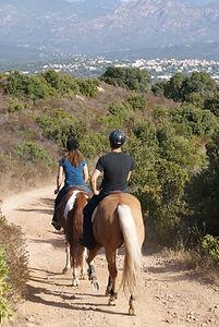 Reiten Süd Korsika
