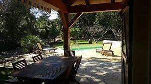 Porto-Vecchio, maison de vacances, piscine chauffée privée
