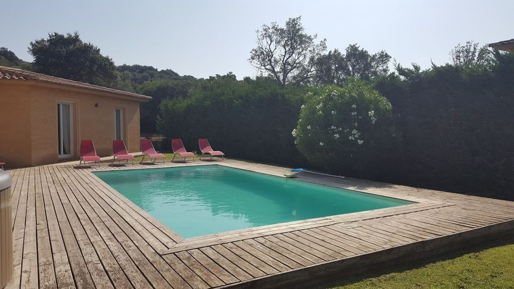 Korsika , Ferienhaus mieten mit Pool