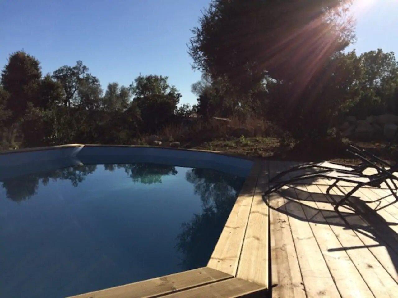 Süd-Korsika, Ferienwohnung mit Pool