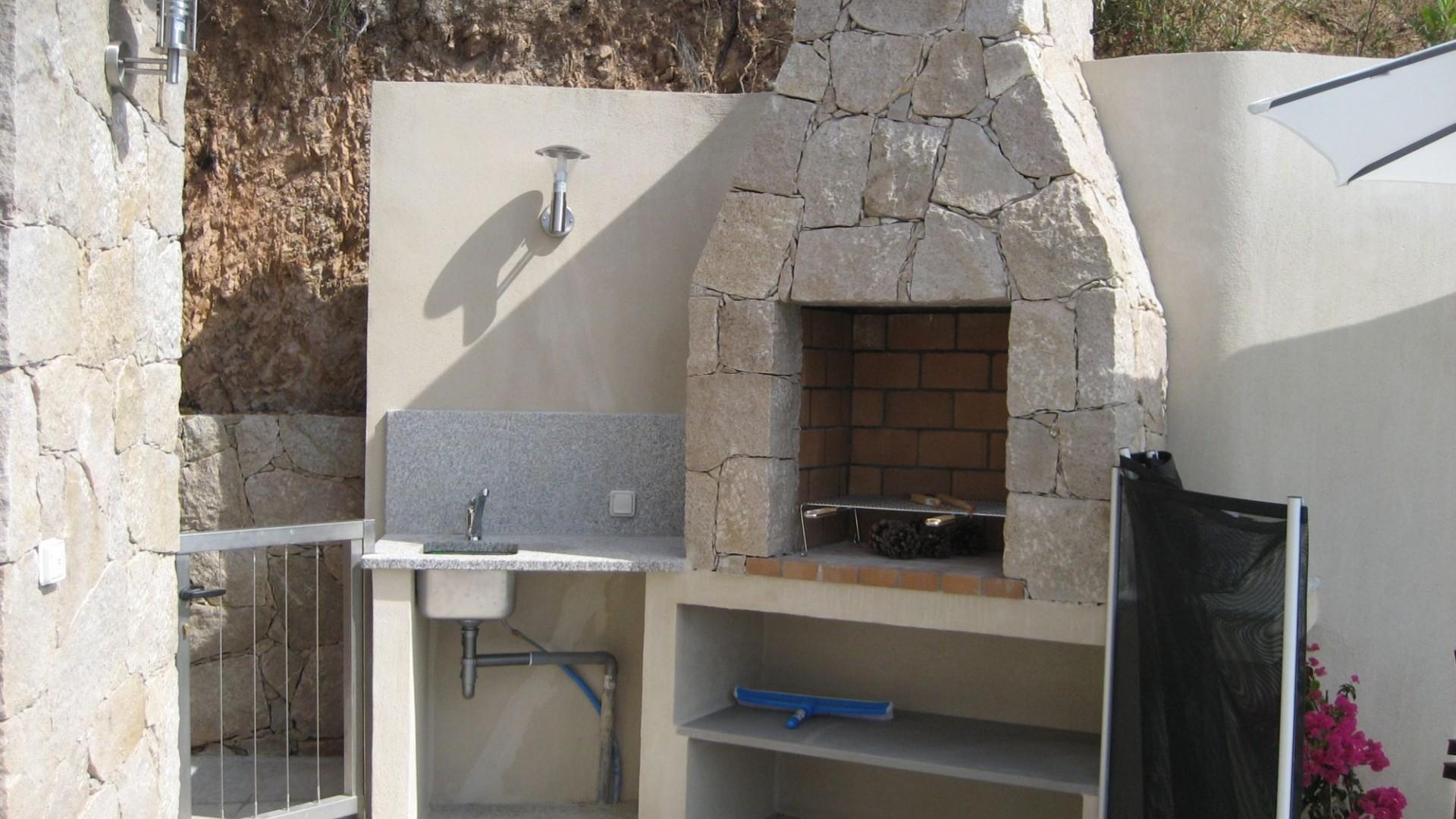 Korsika Ferienhaus mietent Barbecue