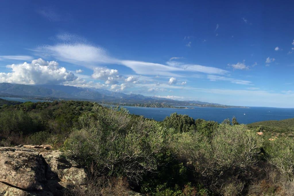 FEWO Sud Korsika  mit Traumblick