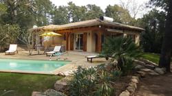 Korsika Ferienhaus strandnah, Pool ,