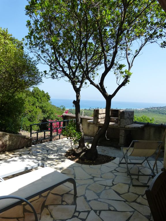 Ferienhaus süd Korsika, Meerblick