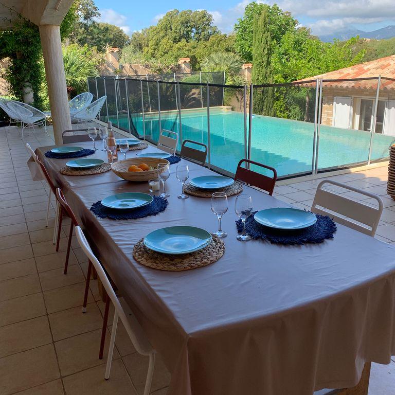 Ferienhaus Korsika 12 Pers, Pool