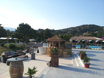 Fewo, Korsika Ferien mit Hund, Pool