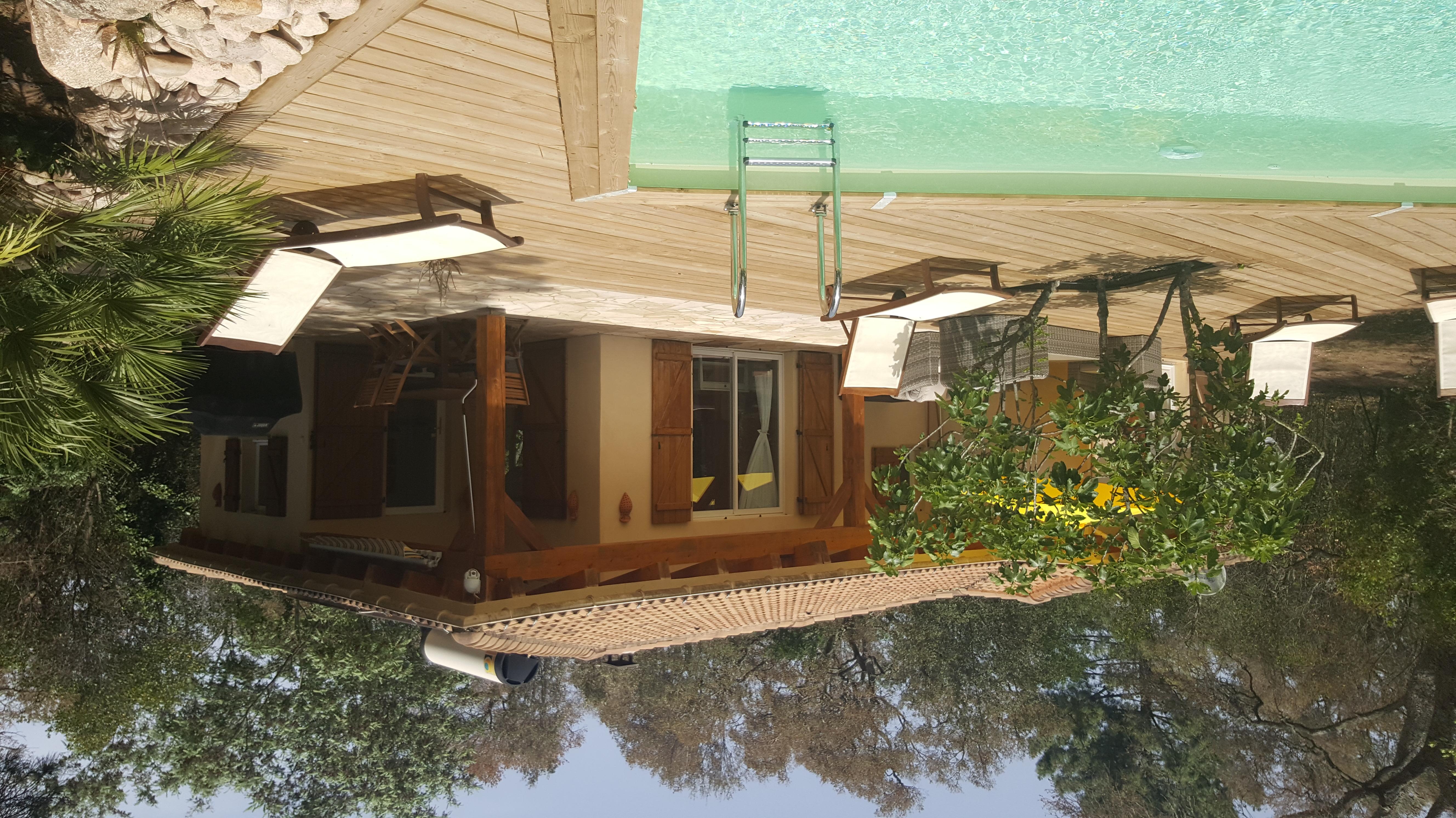 Ferienhaus, Korsika, Pool, Garten