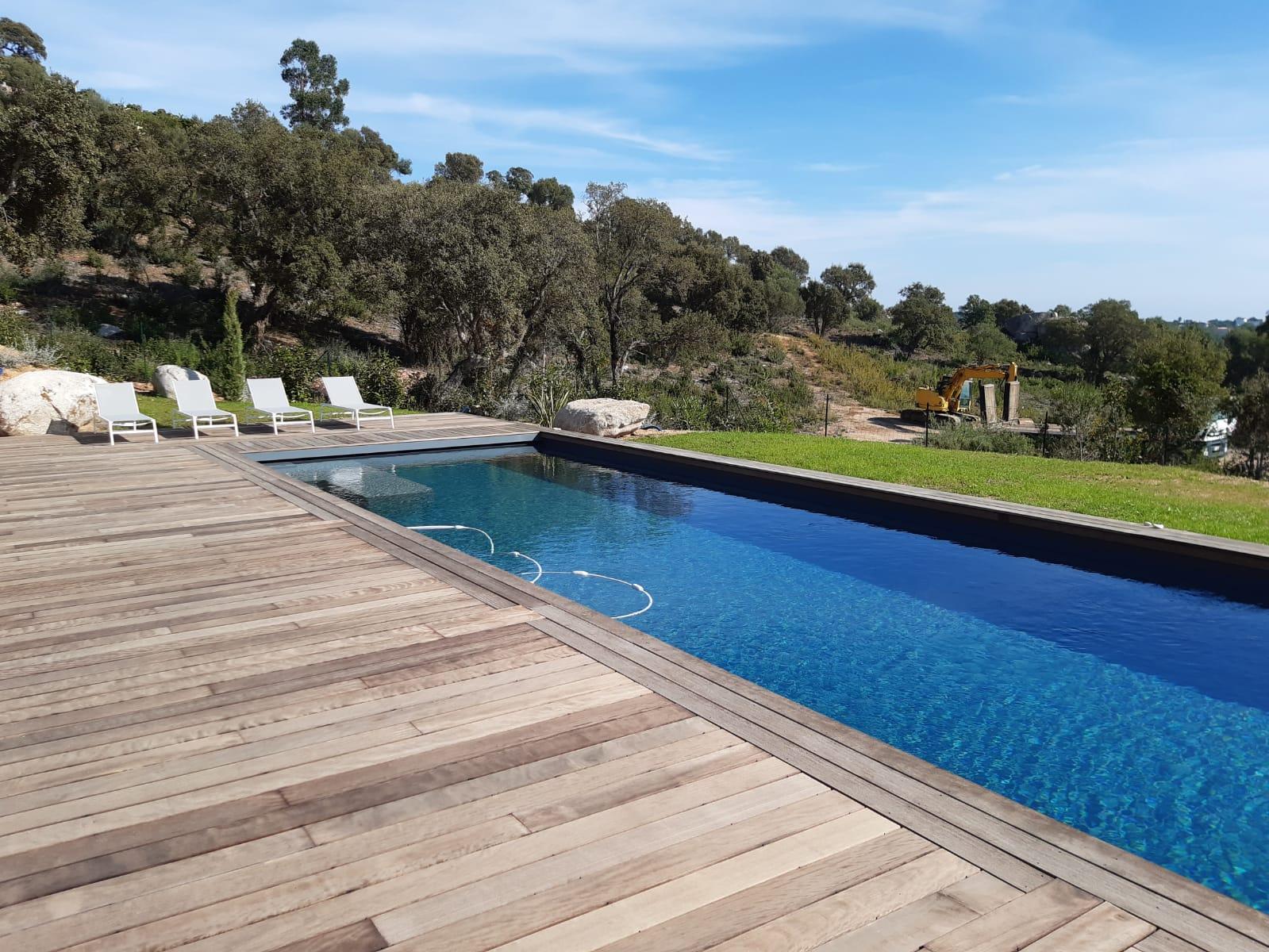 Korsika Ferienhaus Meerblick; Pool