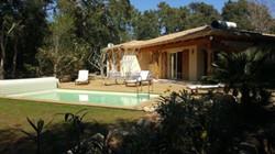 Korsika Ferienhaus 180m Strand