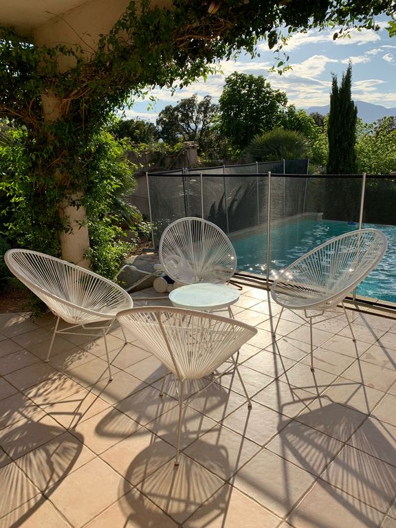 maison de vacances, Corse, pool