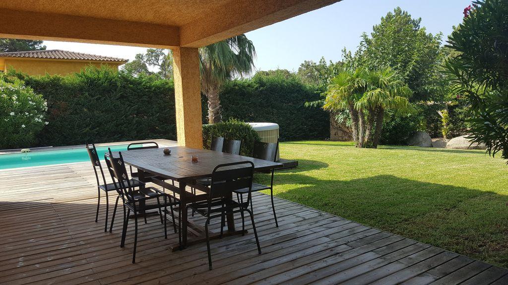 Süd Korsika, Haus mit Pool, 3 Schlafzimmere TERRASSE 1
