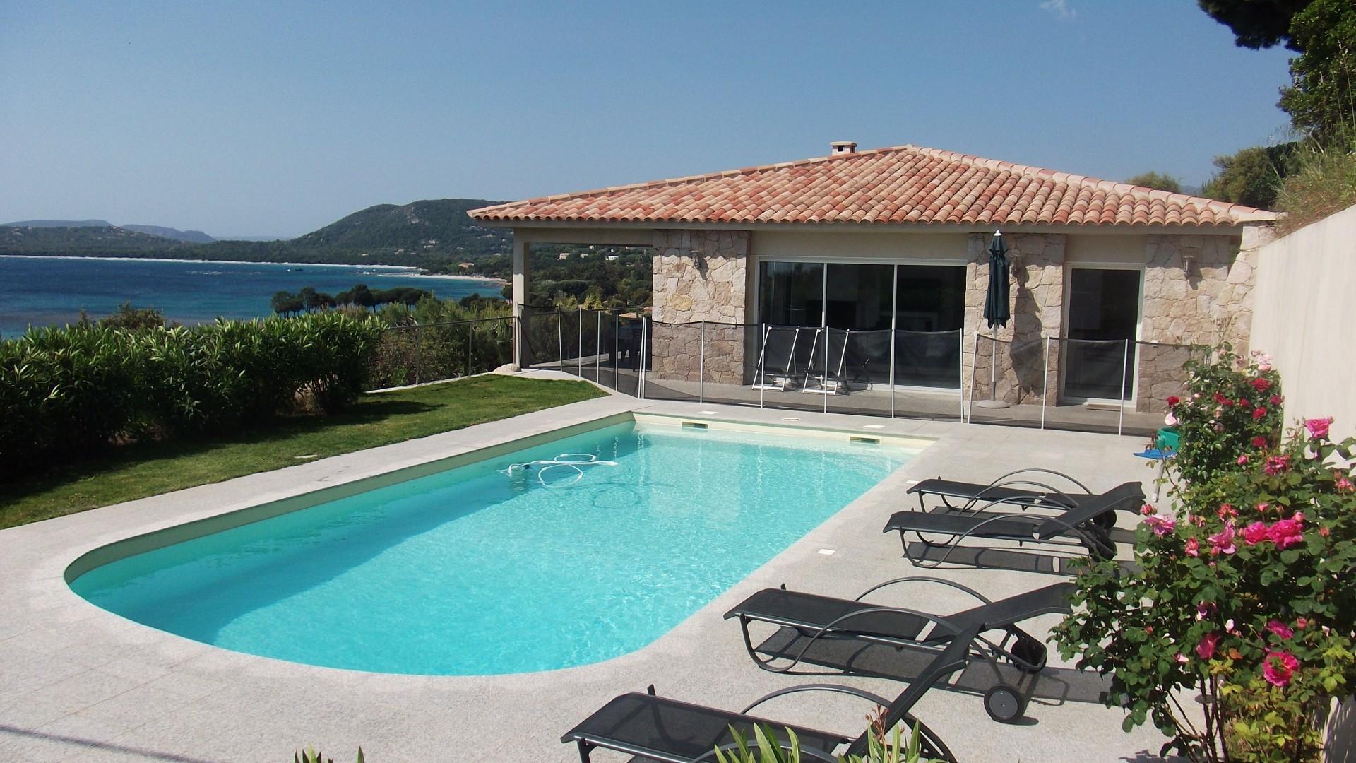 Ferien Haus  Korsika strandnah Pool